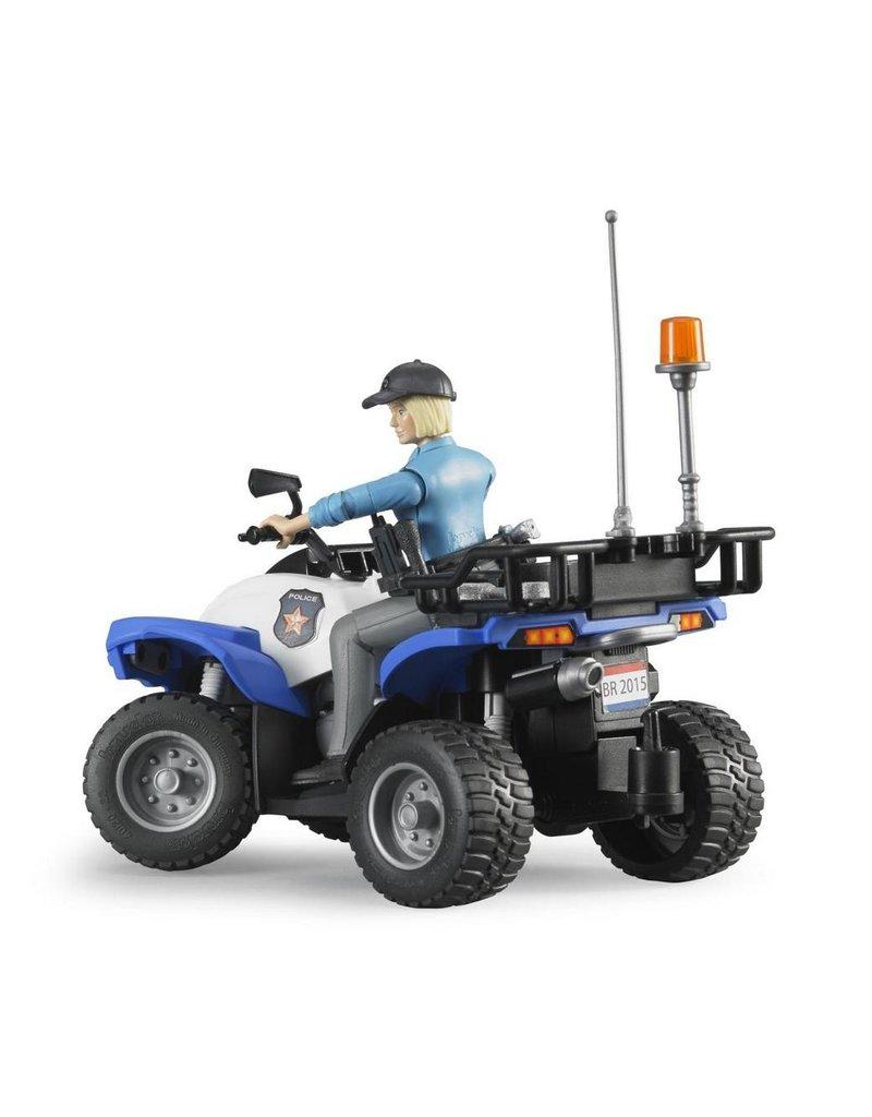 Bruder Bruder 63010 - Politie Quad met agente en accessoires