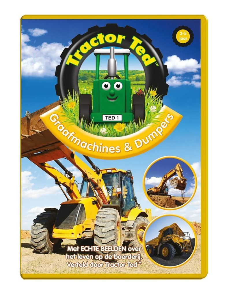 Tractor Ted - Graafmachines & Dumpers DVD