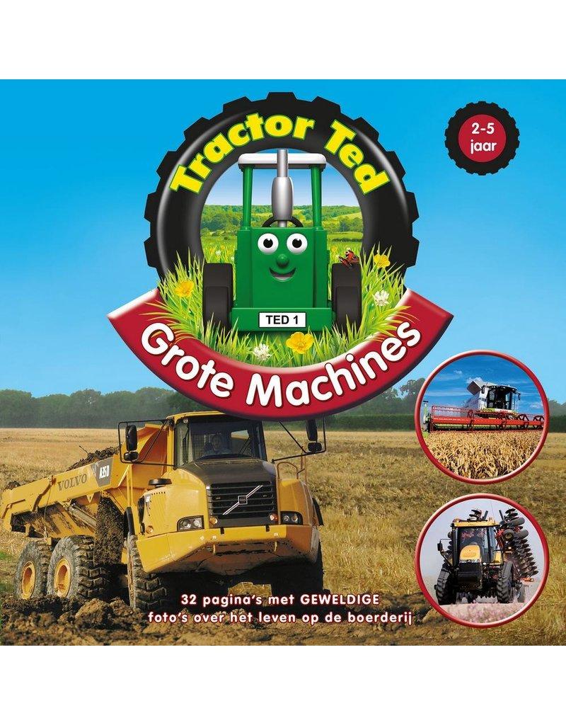 Tractor Ted - Boek: Grote Machines