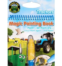 Tractor Ted - Magisch schilderboek tractoren / Magic Painting tractors