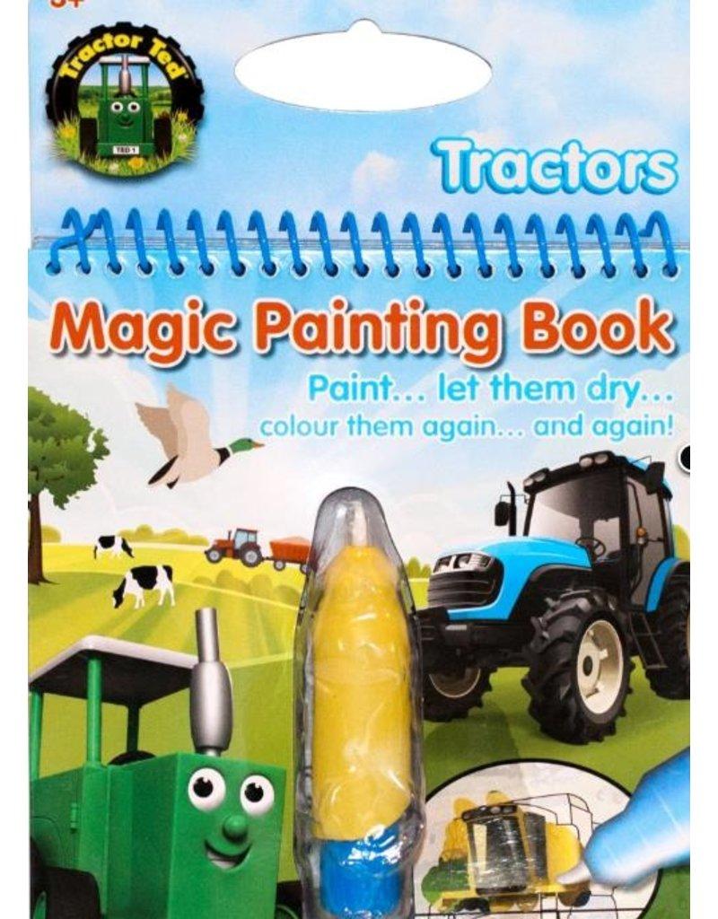 Tractor Ted - Magisch schilderboek tractoren / Magic Painting tractors