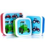 Tractor Ted - Snackbakjes Tractoren (3 stuks)