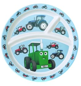 Tractor Ted - 3-vaks bord Bamboo Tractor
