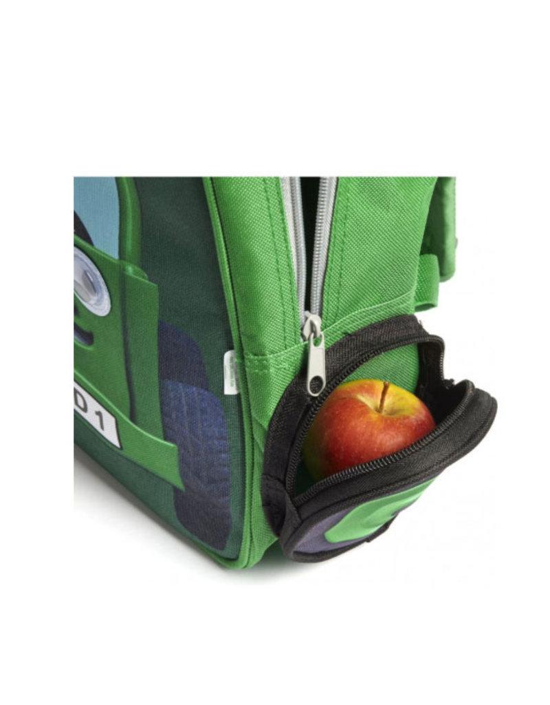 Tractor Ted - Rugzak Groen groot / lunchtas