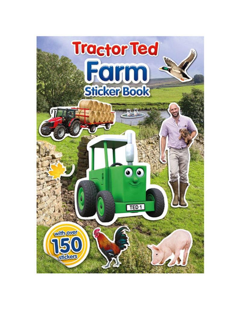 Tractor Ted - Stickerboek, boerderij