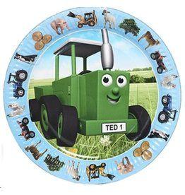 Tractor Ted - Party Bordjes - 8 stuks