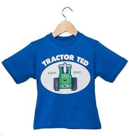 Tractor Ted - T-shirt Blauw - 5-6 jaar