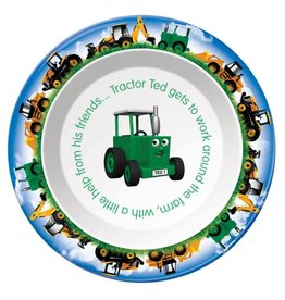 Tractor Ted - Ontbijtbord/Bakje Digger / grote machines