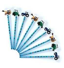 Tractor Ted - Potlood met gum
