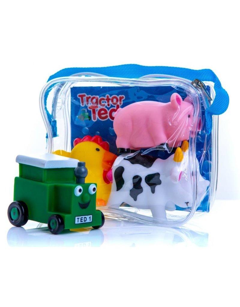 Tractor Ted - Badspeeltjes (4 stuks)