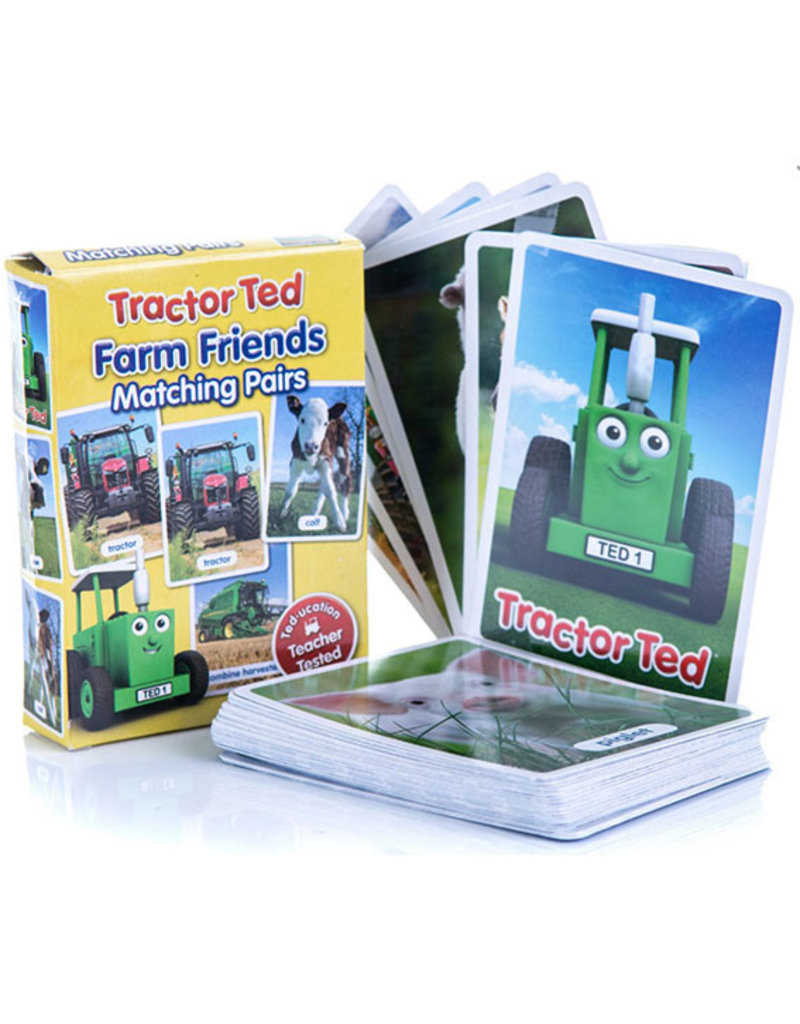 Tractor Ted - Boerderij memory