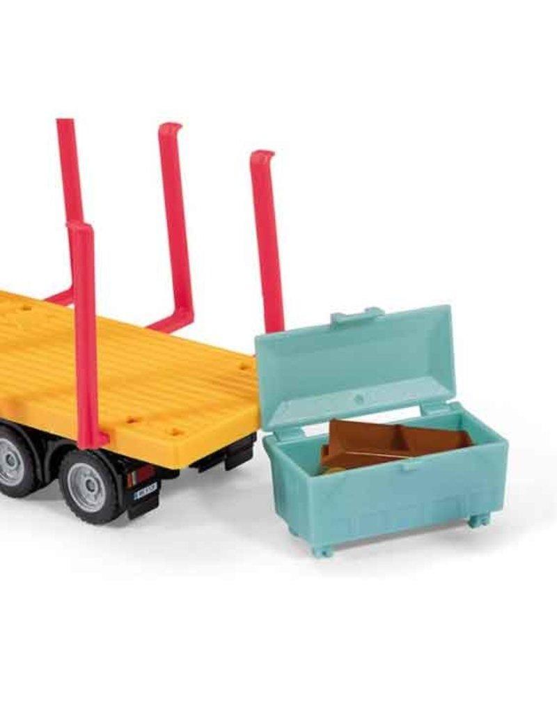 Siku Siku 3562 - Transport vrachtwagen met prefabhuis 1:50