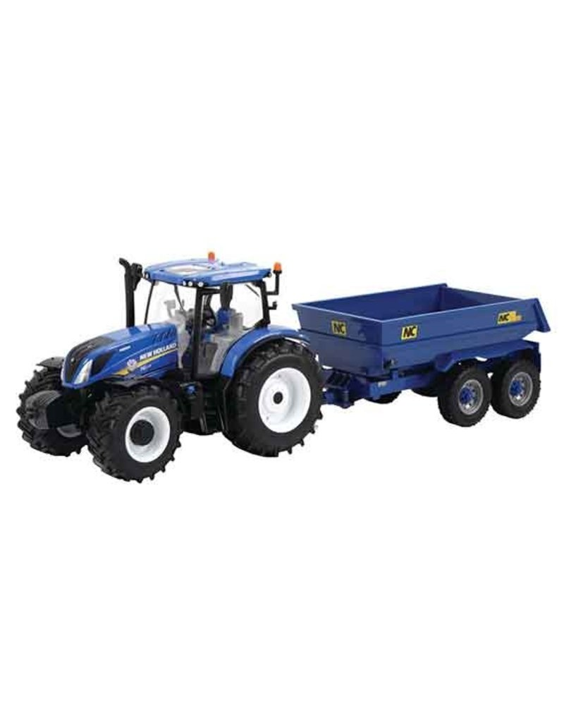 Britains Britains 43268 - New Holland T6 met NC trailer 1:32