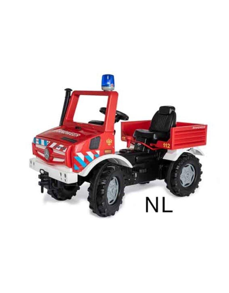 Rolly Toys Rolly Toys 038220 - Brandweer Unimog met 2 versnellingen en rem