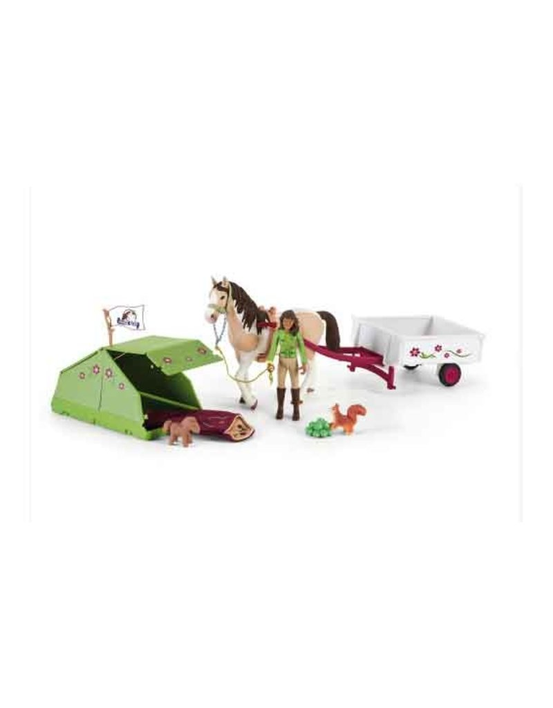 Schleich Schleich Horses 42533 - Horse Club Sarah's camping avontuur