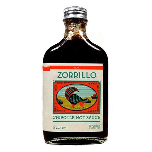Zorillo Chipotle Hot Sauce, 200ml