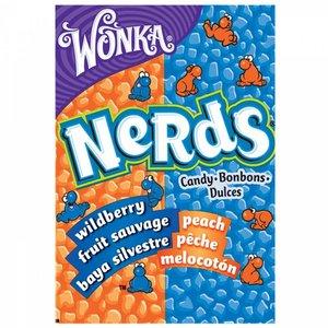 Wonka Nerds Wildberry Peach, 47g