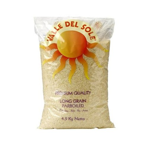 Valle Del Sole Parboiled Rice 4.5kg