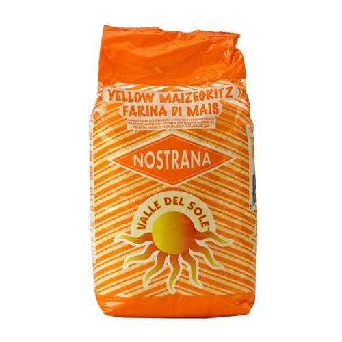 Valle Del Sole Nostrana Yellow Corn Flour, 1kg