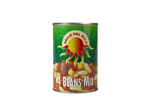 Valle Del Sole Four Beans Mix, 400g