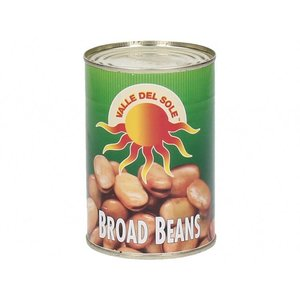 Valle Del Sole Broad Beans, 400g