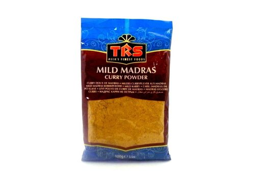 TRS Mild Madras Curry powder, 100g