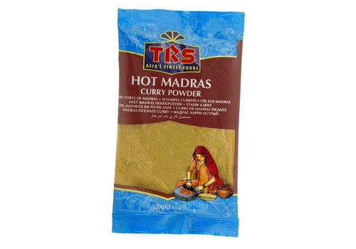 TRS Hot Madras Curry Powder, 100g
