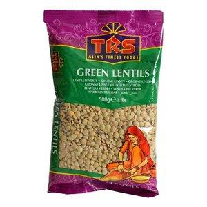TRS Green Lentils, 500g