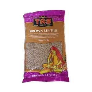 TRS Brown Lentils, 500g
