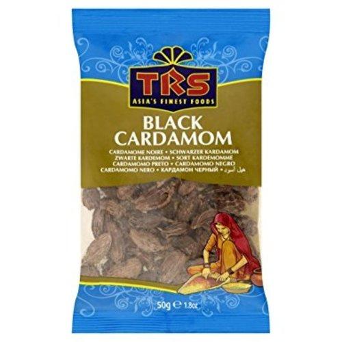 TRS Black Cardamom, 50g