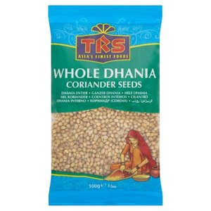 TRS (Dhania) Korianderzaad, 100g