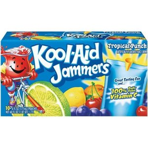Kool Aid Tropical Punch Jammers, 10pk