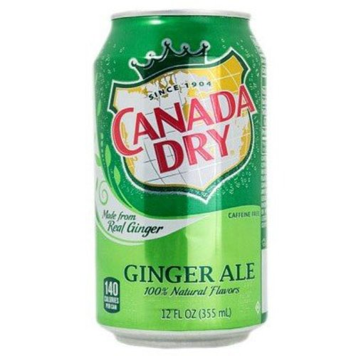 Canada Dry Ginger Ale, 355ml