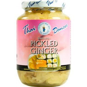 Thai Dancer Pickled Ginger, 454g