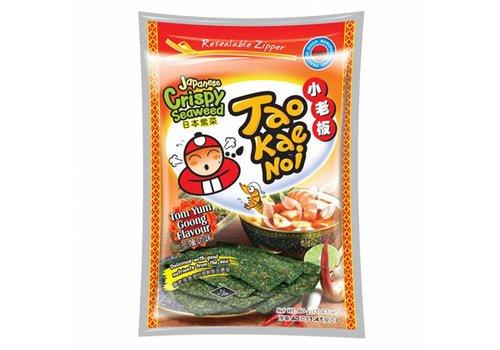 Tao Kae Noi Tom Yum Seaweed Snack, 32g