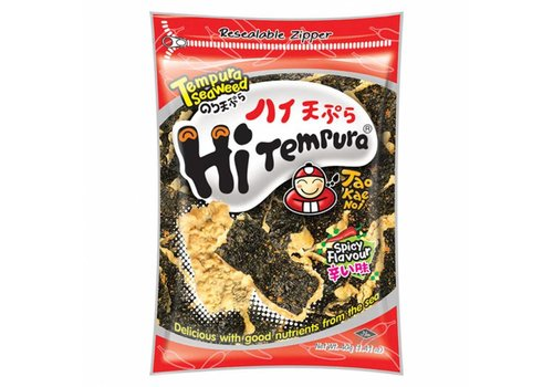 Tao Kae Noi Spicy Tempura Seaweed Snack, 40g