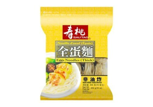 Sau Tao Sun Shun Fook Egg Noodles Thick, 454g