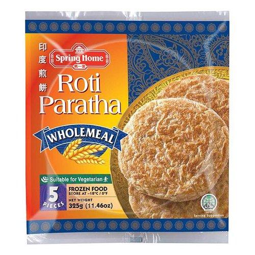Spring Home Roti Paratha Wholemeal, 325g