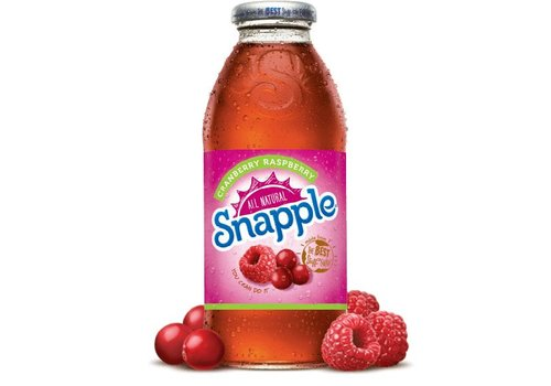 Snapple Cranberry Raspberry, 473ml