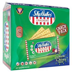 M.Y. San Sky Flakes Crackers Onion & Chives Flavor, 250g
