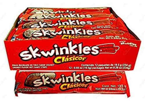 Skwinkles Clasicos, 12x19,5g