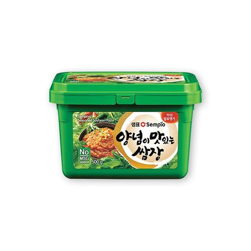 Sempio Soybean Paste with Seasoning, 500g
