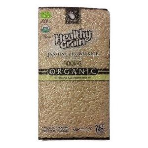 Sawat-D Organic Brown Jasmine Rice, 1kg