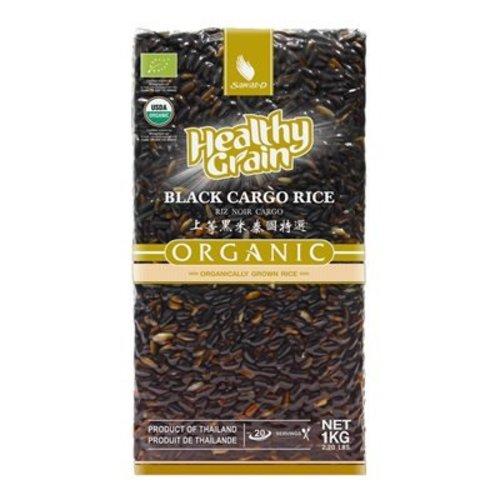 Sawat-D Organic Black Cargo Rice, 1kg