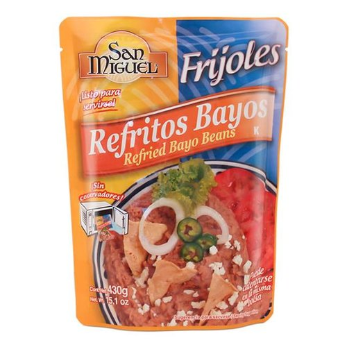 San Miguel Refried Pinto Beans, 430g