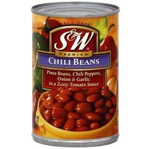 S&W Chili Beans, 439g