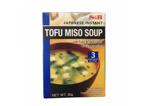 S&B Tofu Miso Soup, 30g