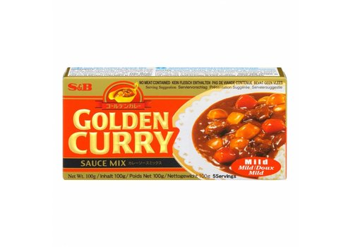 S&B Golden Curry Mild, 100g