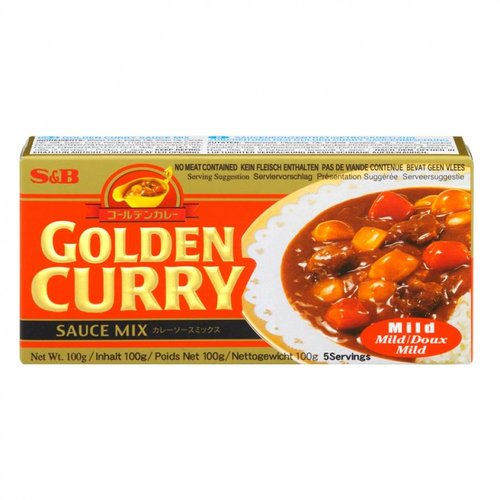 S&B Golden Curry Mild, 92g