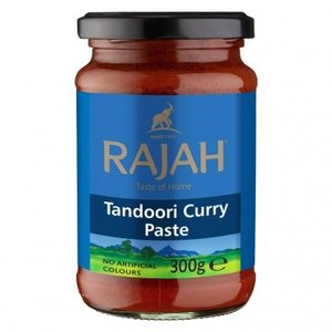 Rajah Tandoori Curry Paste, 300g